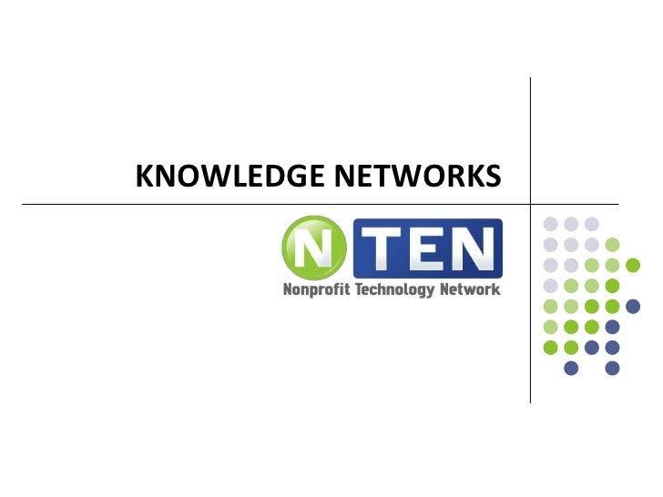 Knowledge Sharing Networks