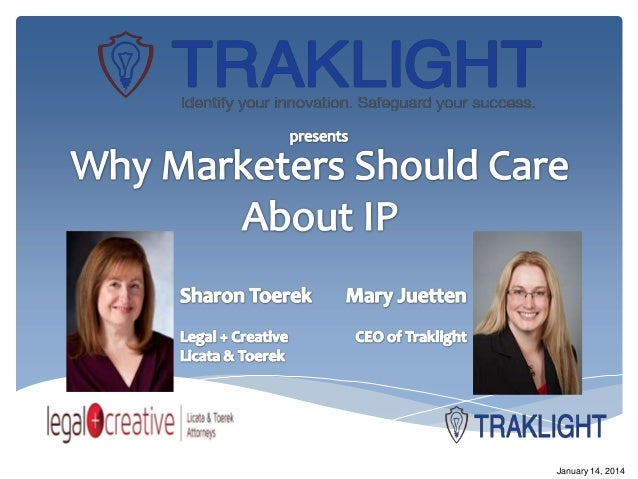 Sharon Toerek: Why Marketers Should Care About IP