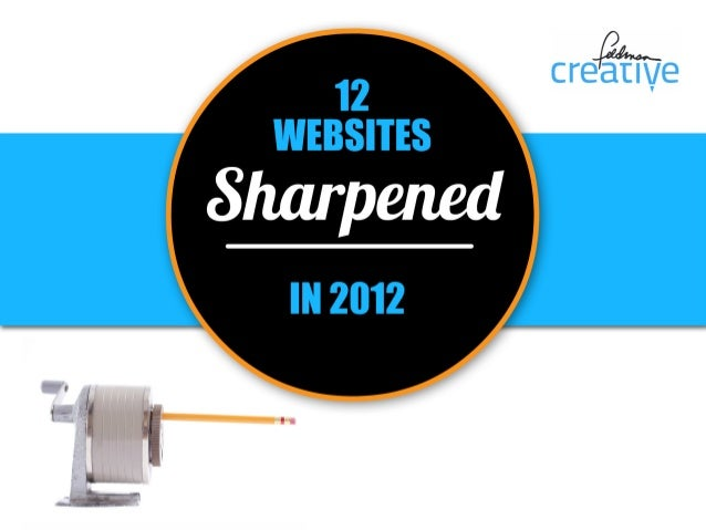 12 Sharpened Websites in 2012