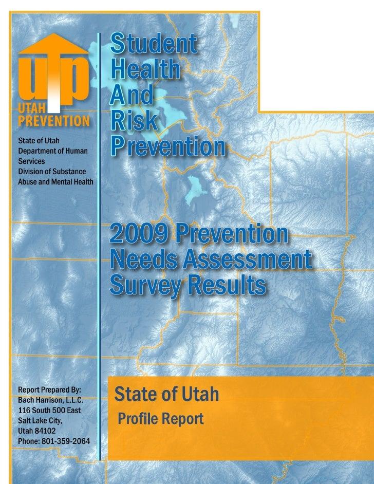 State of Utah Profile Report             1