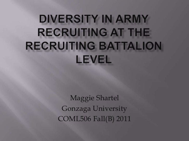 Shartel orgl 506 b mod 4 powerpoint   diversity in army recruiting