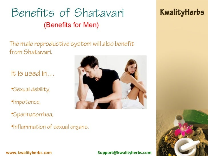 Shatavari for men