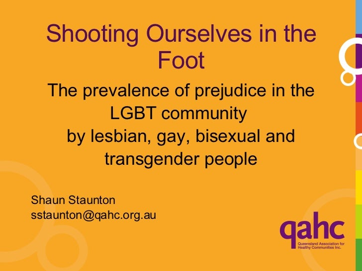 Shooting Ourselves In The Foot