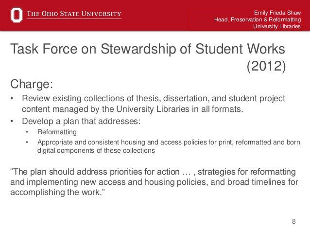 Ohio state university phd thesis