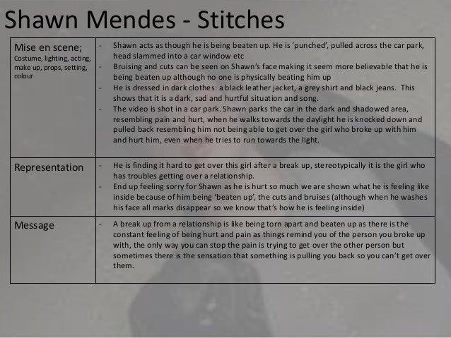 Shawn Mendes Stitches