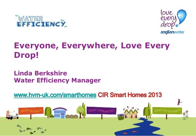 anglian water Linda Berkshire at Smart Homes 2013 Cambridge