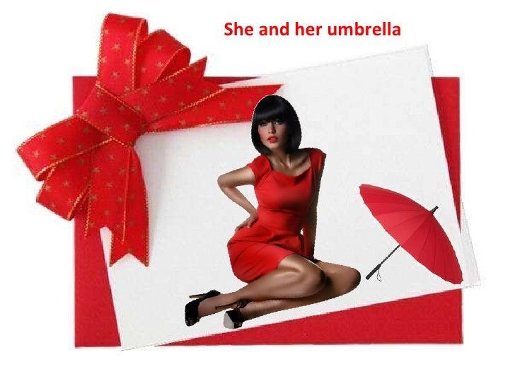 She andherumbrella