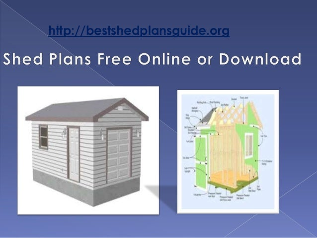 Shed Plans Free Online Or Download