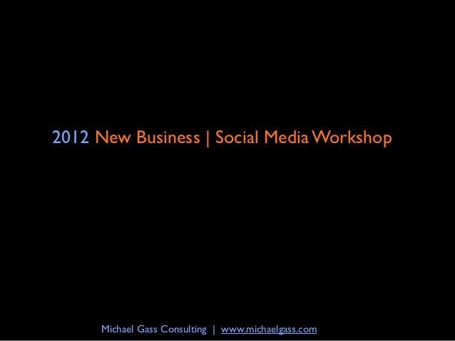 New Business | Social Media Workshop