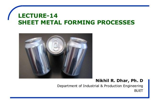 Sheet metal-forming-processes