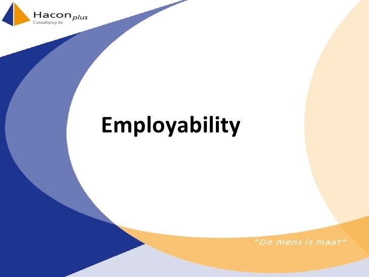 Sheets Employability Haconplus 2010