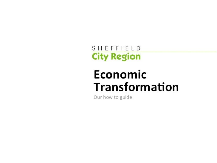 Economic Transforma-on Our how to guide