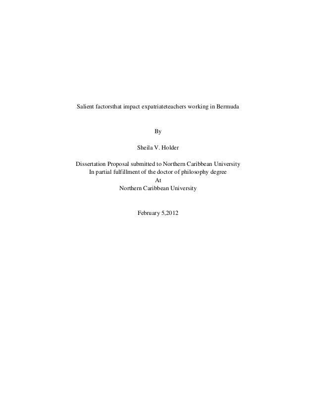Sheila holder's disseration proposal 2.3a