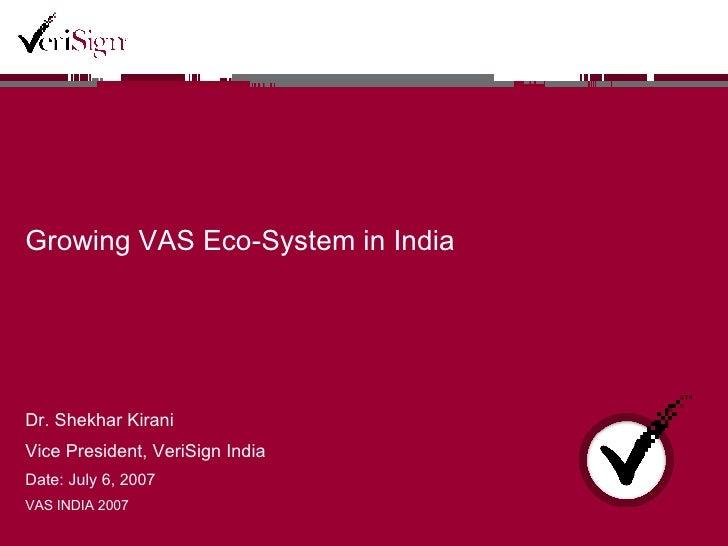 Shekhar Kirani Kivas Presentation 2007 Sk 2