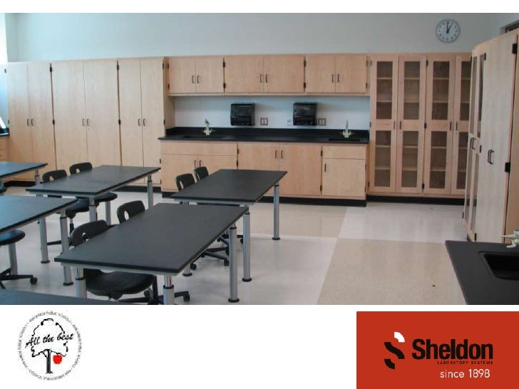 Sheldon Laboratory Furniture in Science Labs (2010)