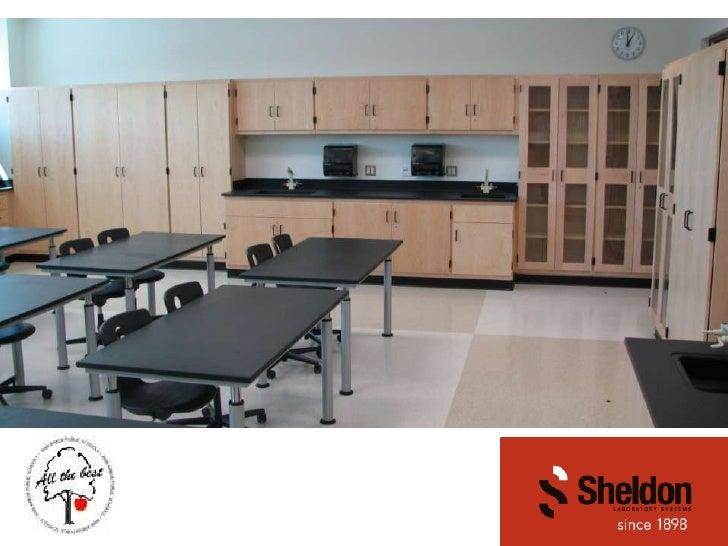 Sheldon Laboratory Furniture in Science Labs (2010)