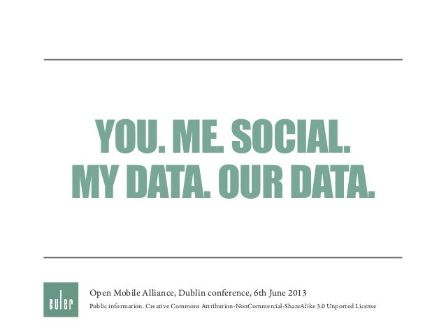My data. Our data.