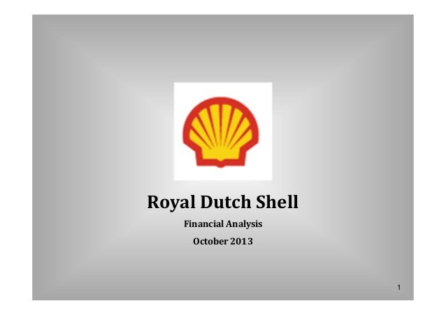 financial analysis for royal dutch shell My analysis here is based on the profitability ratios in the financial statements of  royal dutch shell (nyse:rdsa) over the last five years.