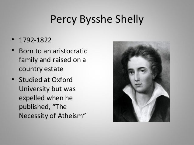 percy bysshe shelley thesis statement We have to submit a good thesis proposal for our assigned authors and i got percy shelley so i need a good thesis statement proposal about.