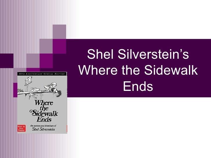 Shel Silverstein's Where the Sidewalk Ends
