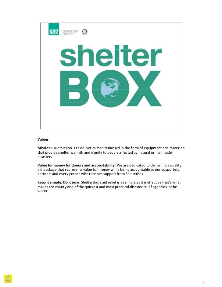 ShelterBox Presentation at 43th District 3300 Rotaract Conference