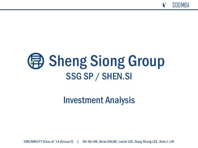 supply chain of sheng siong Supply chain analysis gives you the latest insight, case studies and thought leadership on how to build a successful supply chain sheng siong - news first 1 last sheng siong group large supermarket chain sheng siong has reported 43% year-on-year (yoy.