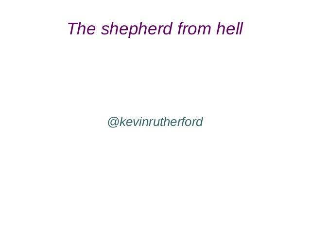 Shepherding antipatterns