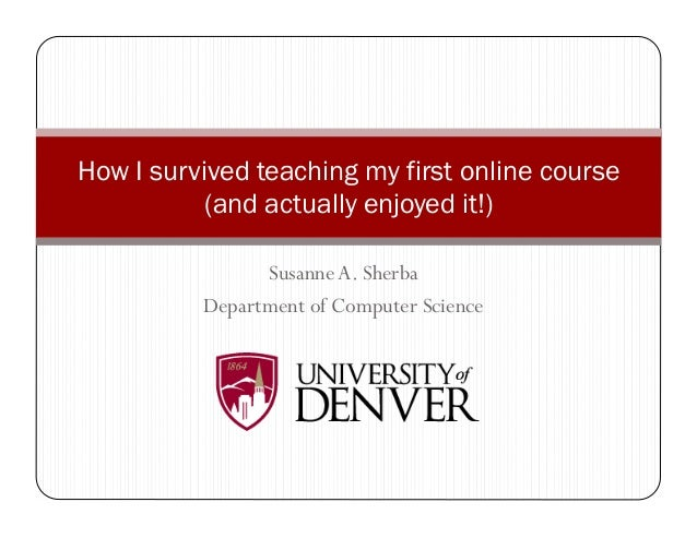 How I survived teaching my first online course (and actually enjoyed it!)