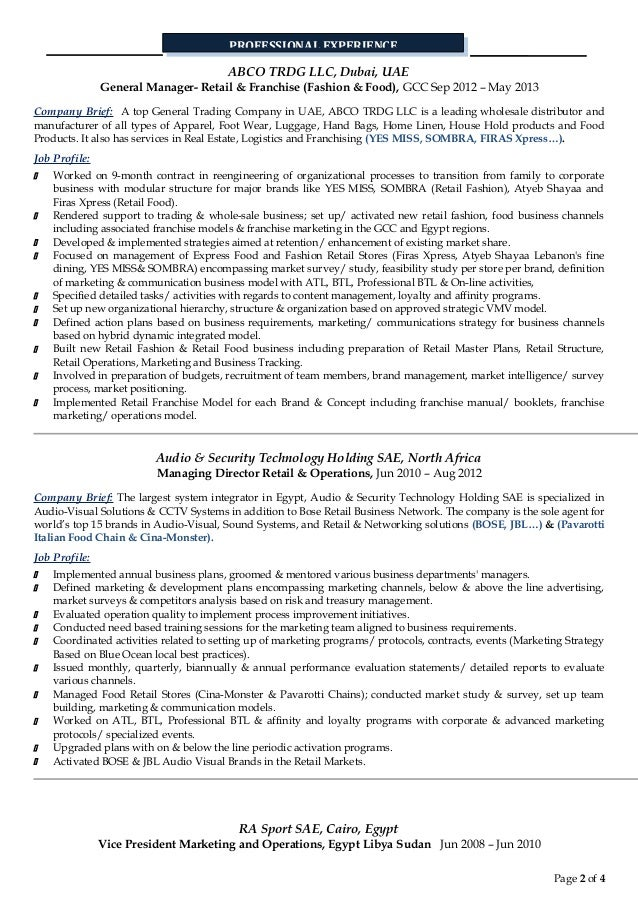 best luxury retail manager resume gallery simple resume office