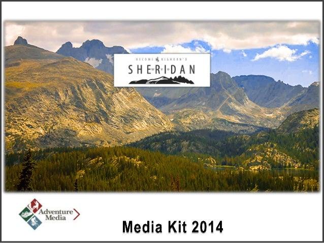 Sheridan Travel & Tourism Media Kit 2014