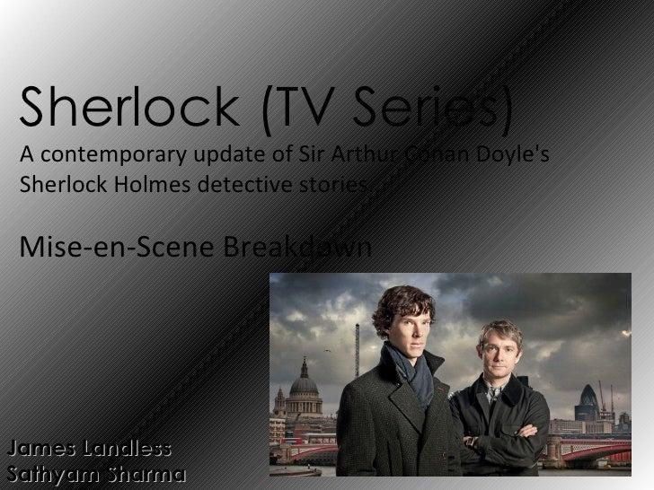 Sherlock (T.V series) ppt.