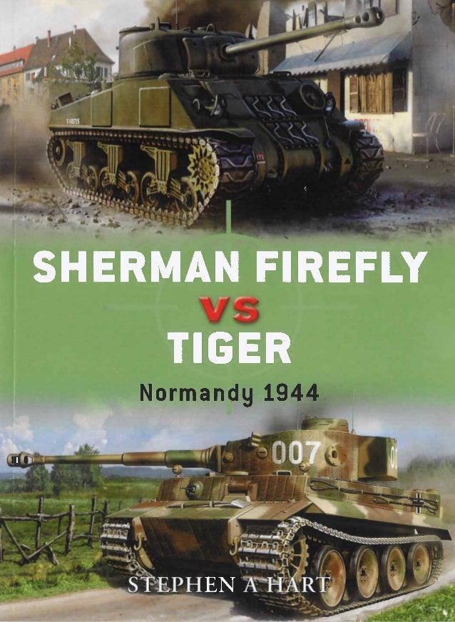 Sherman firefly vs tiger