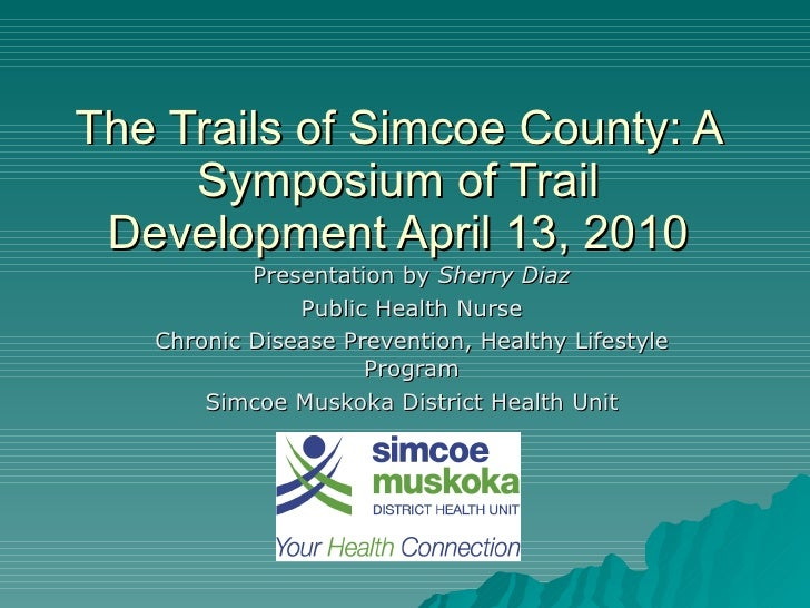Sherry d - trail presentation