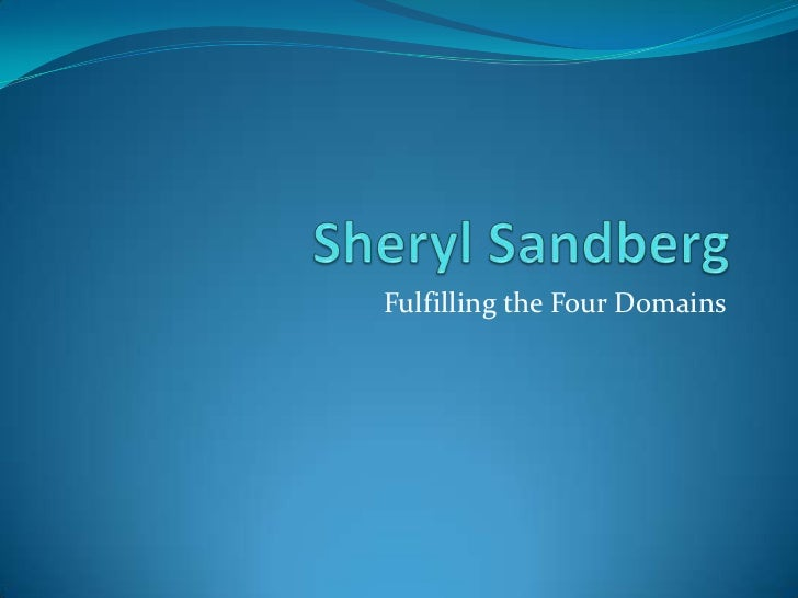 Sheryl Sandberg by Jessica Wang