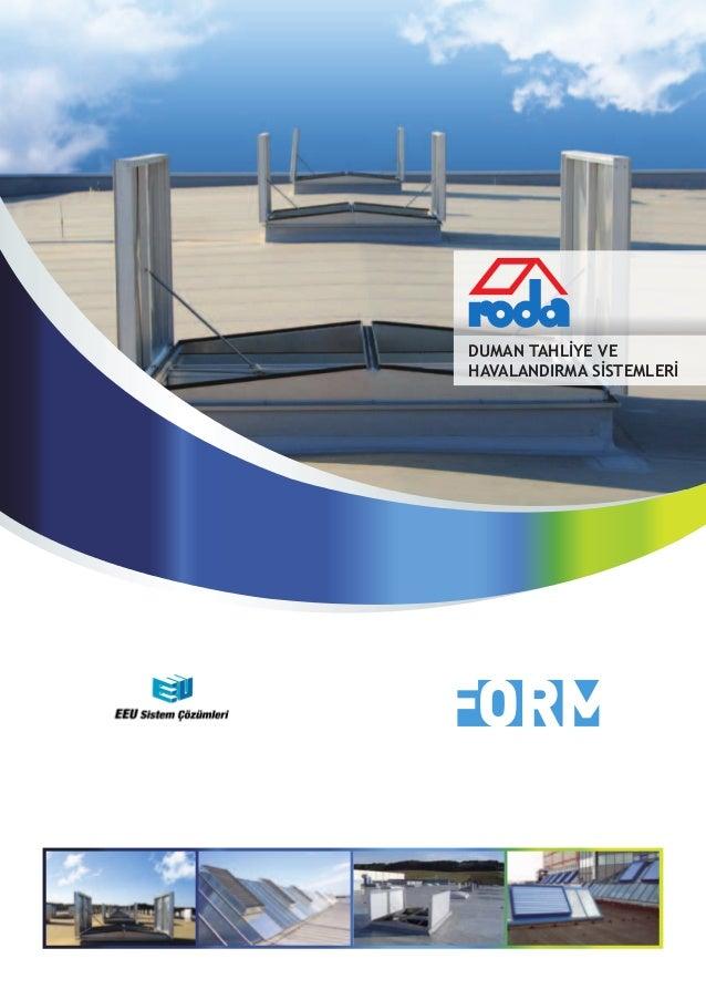 Duman Tahliye HavalandırmaSistemleri Broşür EEUSC 2014