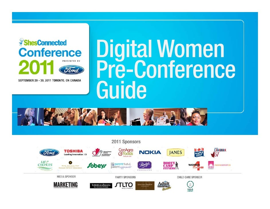 ShesConnected Conference 2011 - Pre-Conference Guide