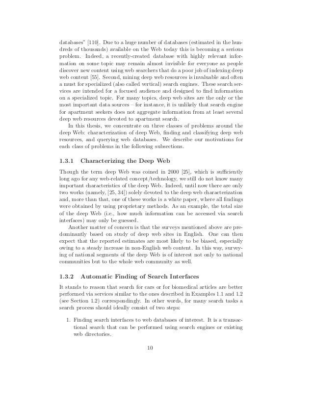 Phd dissertation search
