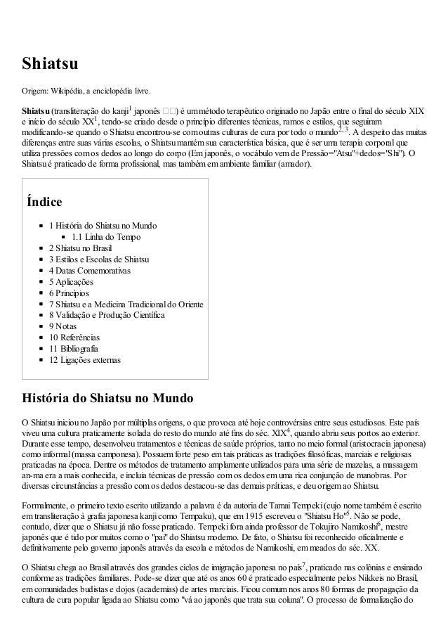 31/01/13                         Shiatsu – Wikipédia, a enciclopédia livreShiatsuO i m Wipd , ec l éilr re : k éi a nio d ...