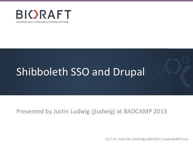 Shibboleth SSO & Drupal