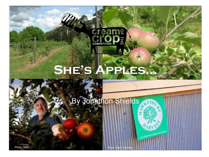 Shields Orchard - A Hawkesbury Harvest success story by Jonathan Shields