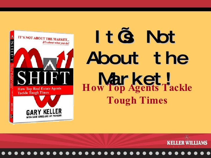 It's Not About the Market! How Top Agents Tackle Tough Times
