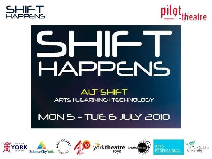Shift Happens Launch Slide Show