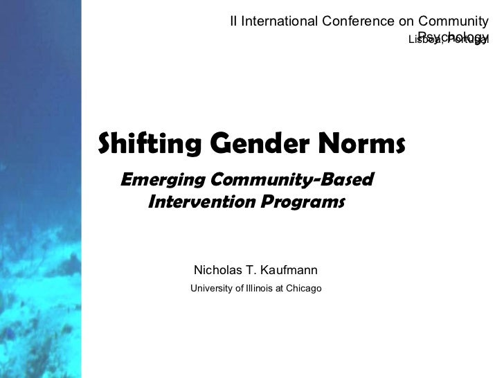 Shifting Gender Norms, 2 Iccp (Nx Power Lite)