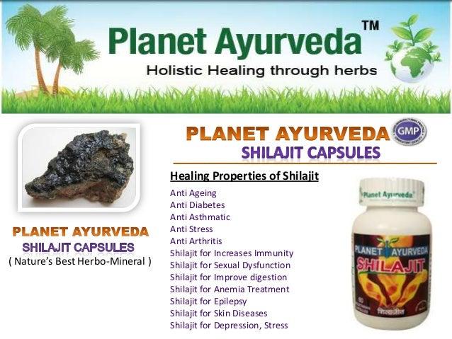 Shilajit Capsules - Medicinal Properties and Health Benefits
