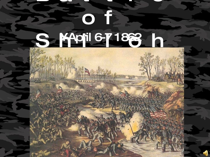 Shiloh, Seven Days Battles