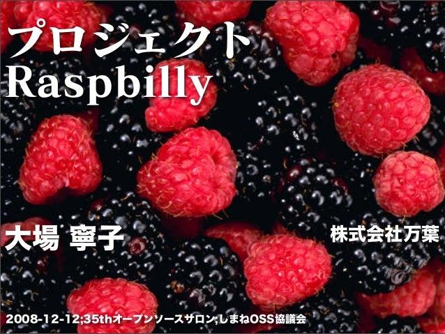 Raspbilly