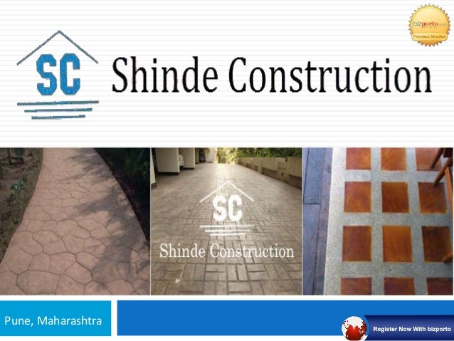 Shinde Constructions - Concrete Flooring Company In Pune