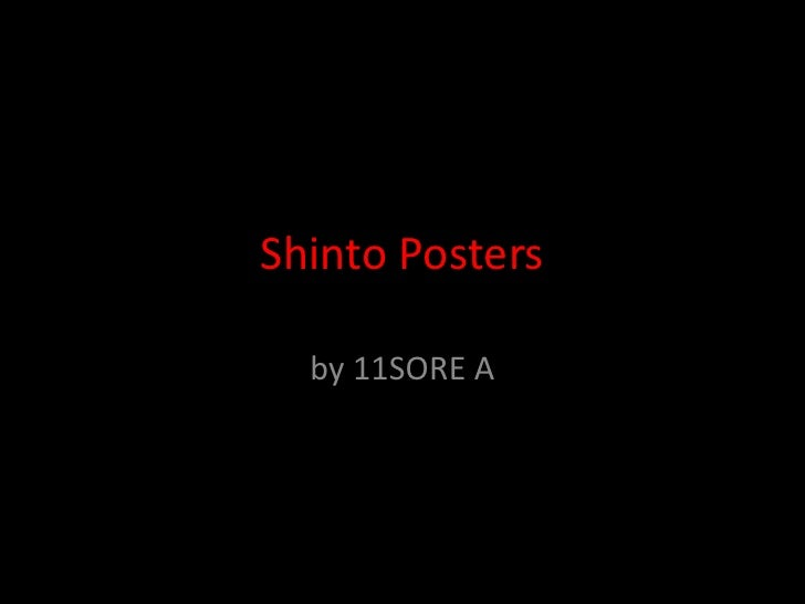 Shinto Posters<br />by 11SORE A<br />