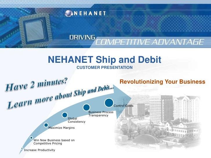 Ship and Debit