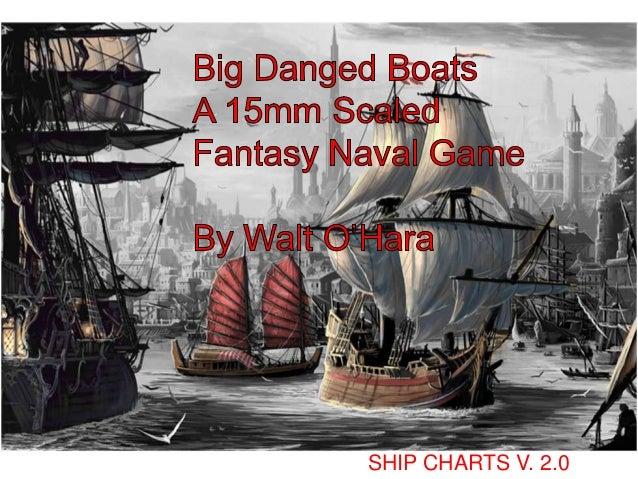 Big Danged Boats Ship Charts